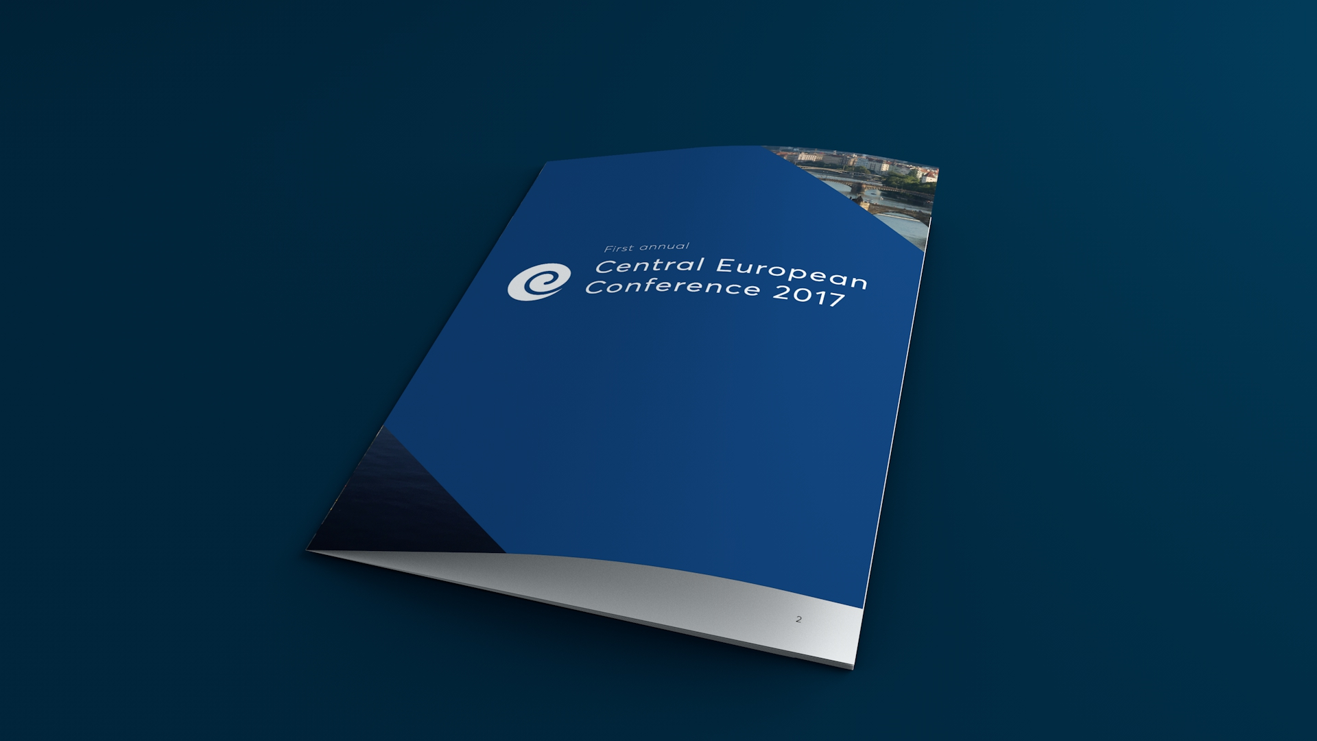 Central European conference Booklet Front Page