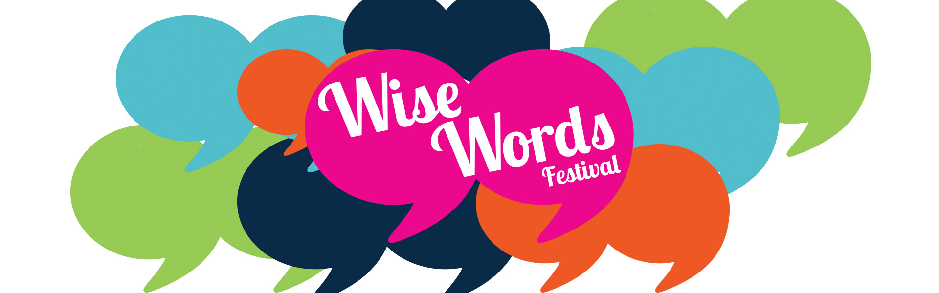 Title banner Wise Words festival